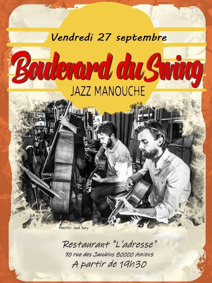 Boulevard du Swing Affiche 27 SEPTEMBRE 2019