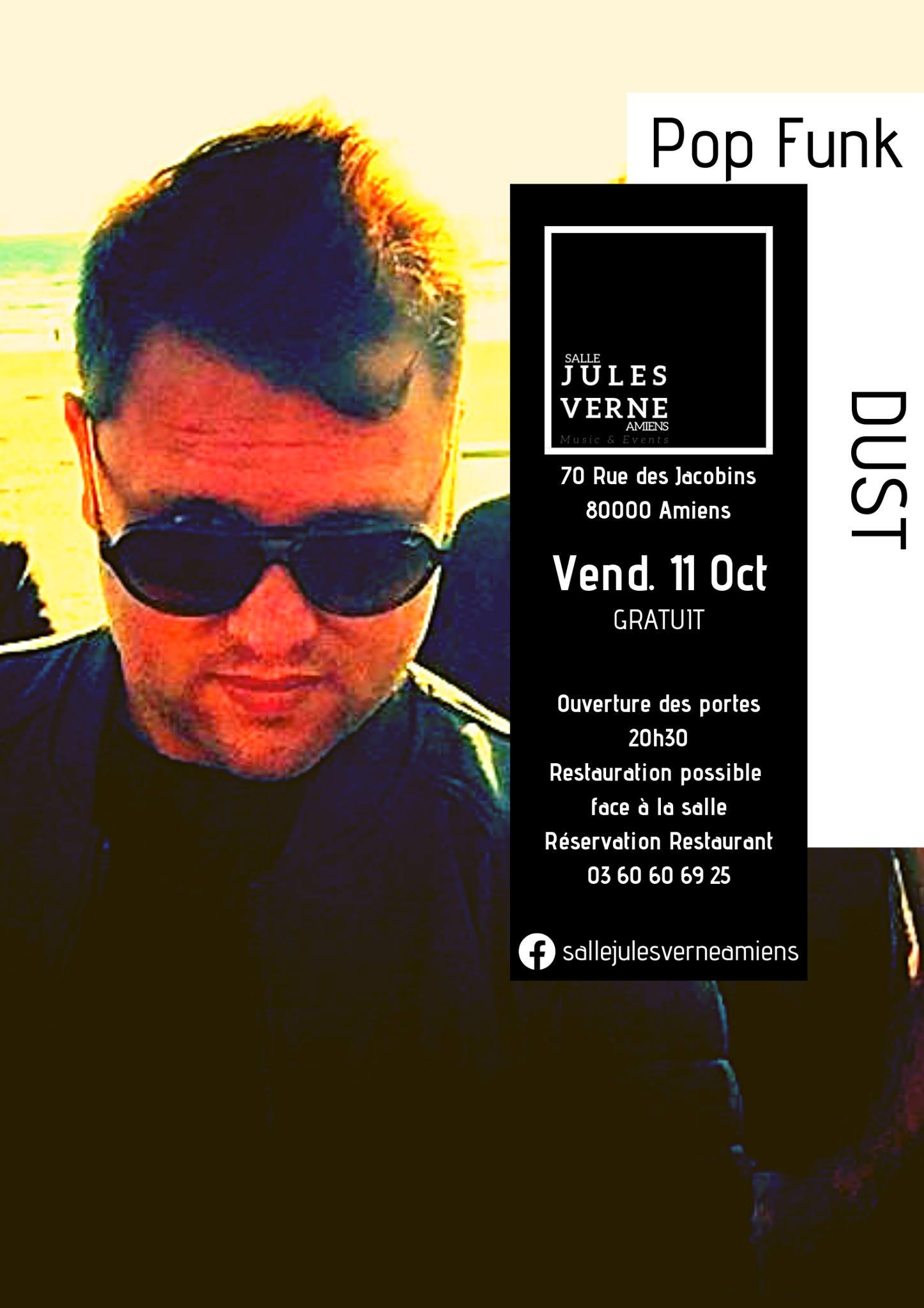 Dust Affiche 11 OCTOBRE 2019