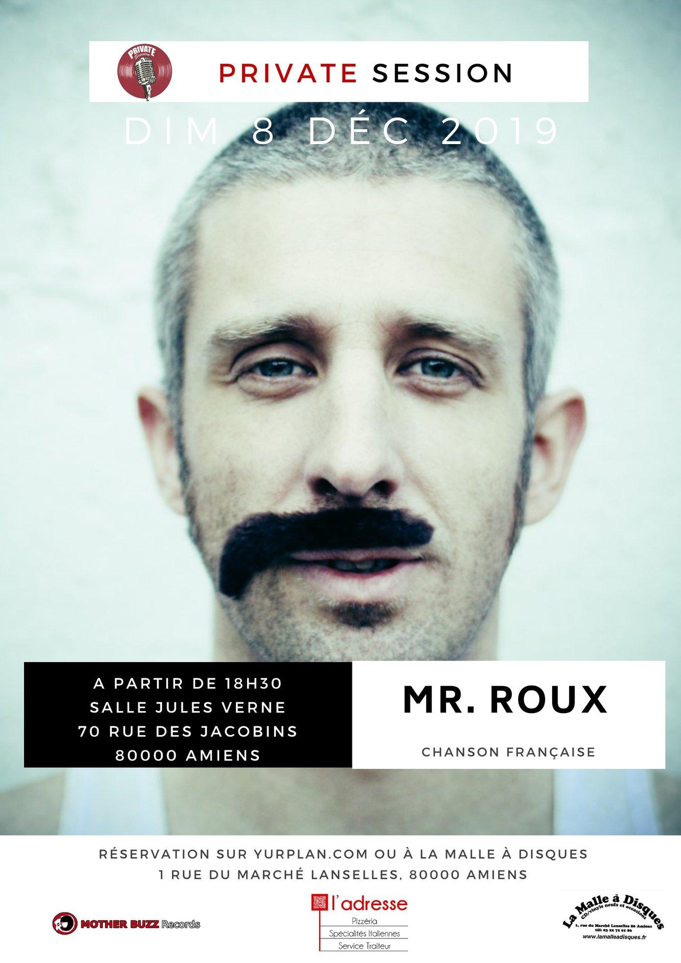 Mr Roux Affiche 8 DECEMBRE 2019