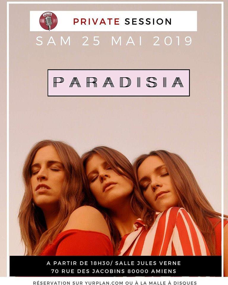 Paradisia Affiche 25 MAI 2019