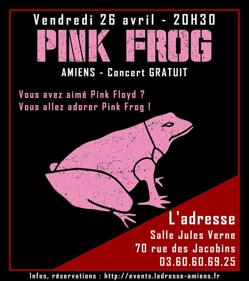 Pink Frog Affiche 26 AVRIL 2019