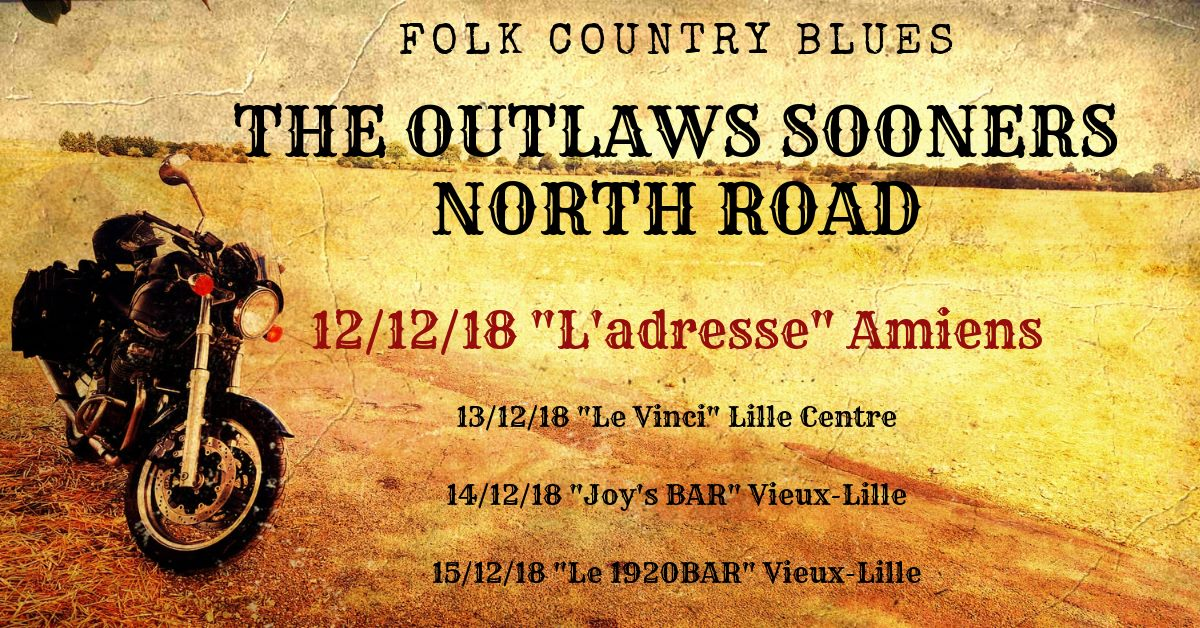 The Outlaws Sooners Affiche 2 12 DECEMBRE 2018