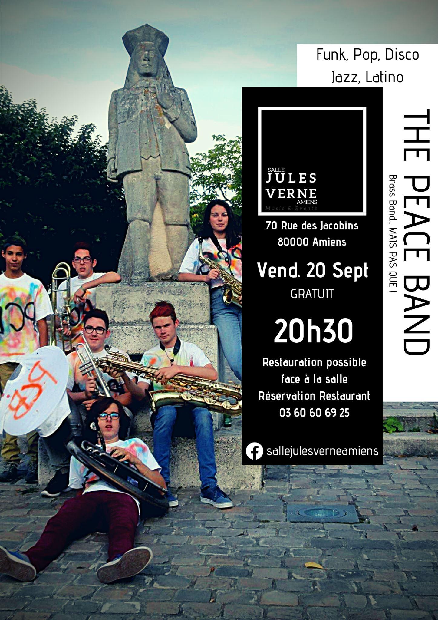 The Peace Band Affiche 20 SEPTEMBRE 2019