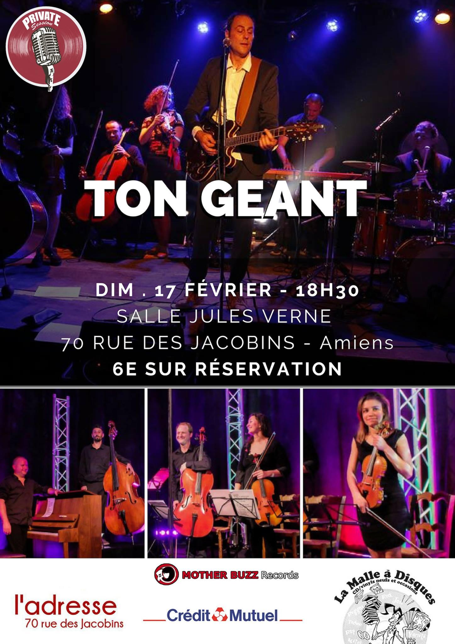 Ton Géant Affiche 17 FEVRIER 2019